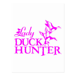 DUCK HUNTING POSTCARD