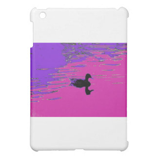 Duck in a pond iPad mini cover