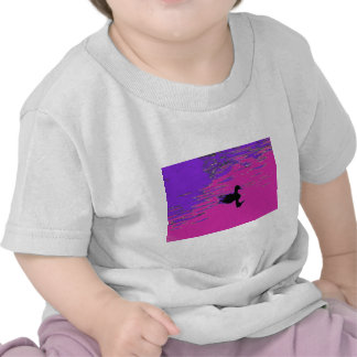 Duck in a pond t shirt