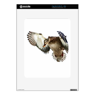 Duck in Flight Skin For The iPad