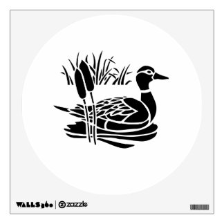 Duck in Pond Wall Decor