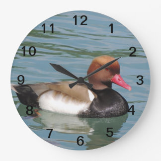 Duck in The Water Large Clock