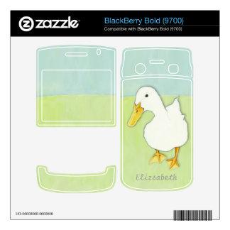 Duck Kiss BlackBerry Bold (9700) Skin BlackBerry Bold Decal