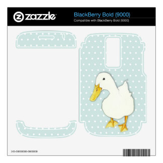 Duck Kiss dots BlackBerry Bold (9000) Skin BlackBerry Bold Skin
