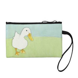 Duck Kiss Key Coin Clutch Bag