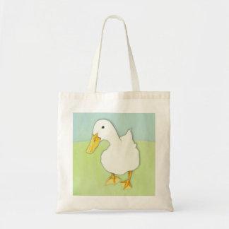 Duck Kiss Tote Bag