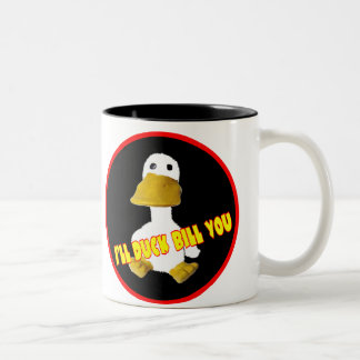 Duck la cuenta que usted asalta taza