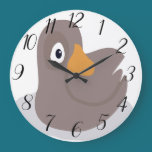 Duck Large Clock