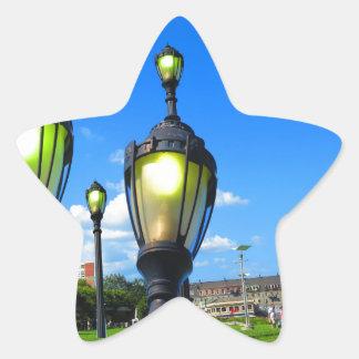 Duck las opiniones de la ventana del viaje de la pegatina en forma de estrella