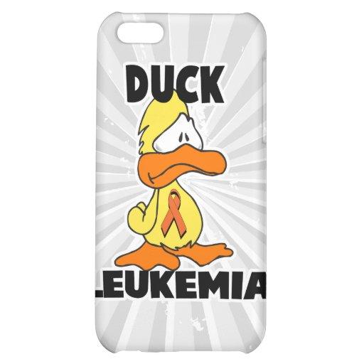 Duck Leukemia (Orange Ribbon) iPhone 5C Cover