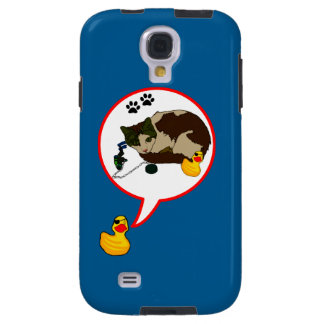 """Duck Lovers, """"Duckie Says!"""" Galaxy S4 Case"""
