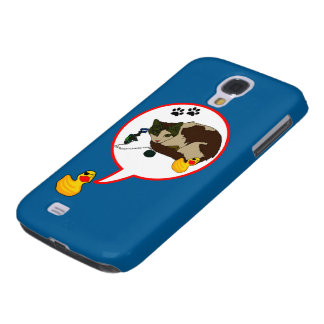 """Duck Lovers, """"Duckie Says!"""" Samsung Galaxy S4 Cover"""