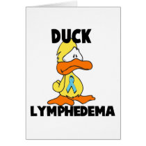 Duck Lymphedema Card