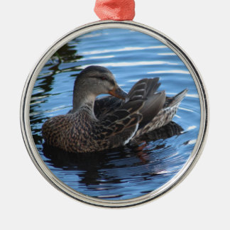 Duck Metal Ornament