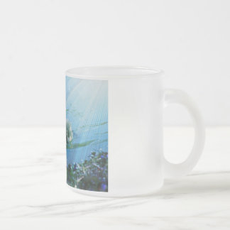 Duck 10 Oz Frosted Glass Coffee Mug