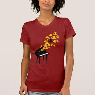 Duck Music Girlie T Shirts