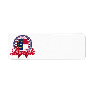 Duck, NC Return Address Label