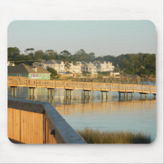 Duck North Carolina Boardwalk and Sound Mouse Pad