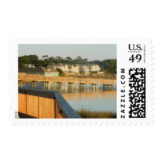 Duck North Carolina Boardwalk and Sound Stamp