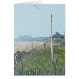 Duck North Carolina Coastline Greeting Card