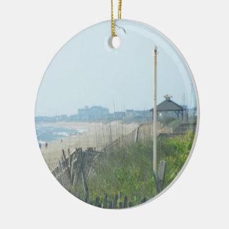 Duck North Carolina Coastline Ceramic Ornament