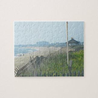 Duck North Carolina Coastline Puzzle