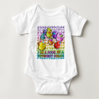 Duck of a Different Color Baby Tees, creepers