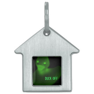 duck off pet tag