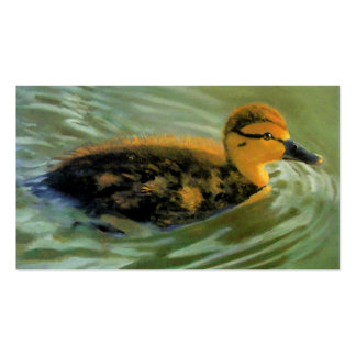 DUCK OIL PAINTING BUSINESS CARD