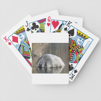 Duck on a Rock Bicycle Playing Cards