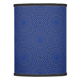 Duck on blue kaleidoscope lamp shade