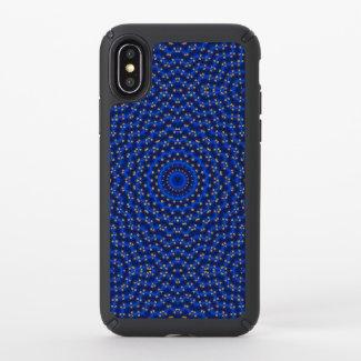 Duck on blue kaleidoscope - speck iPhone x case