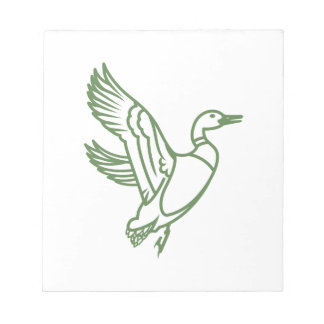 Duck Outline Note Pad