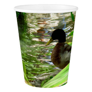 Duck Paper Cup, 9 oz Paper Cup
