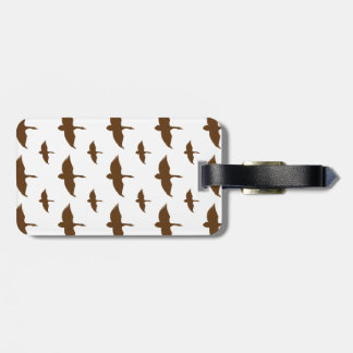 Duck Pattern Transparent Travel Bag Tags