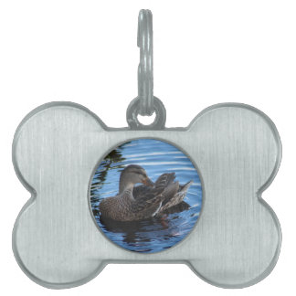 Duck Pet Name Tag