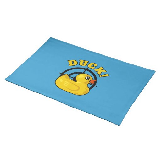 Duck! Placemats