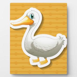 Duck Photo Plaque