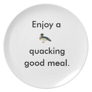 """Duck Plate"" Dinner Plate"