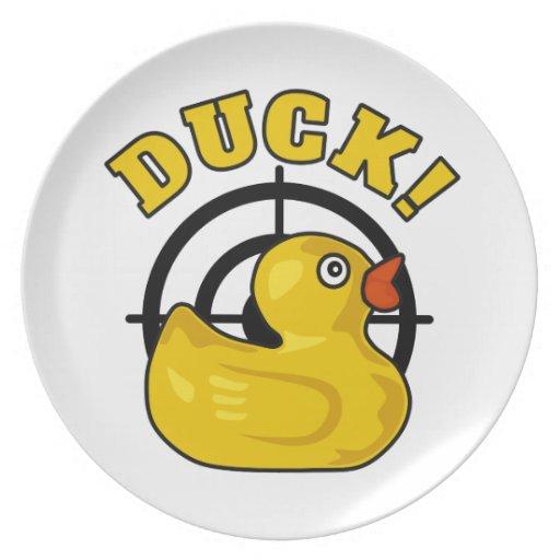 Duck! Plates
