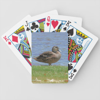 Duck Pond Bicycle Playing Cards