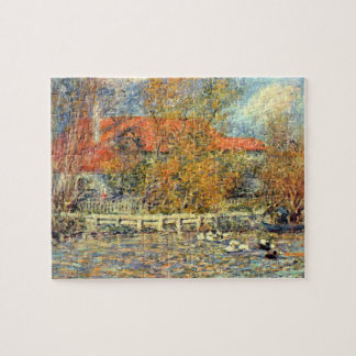 Duck pond by Pierre Renoir Puzzles