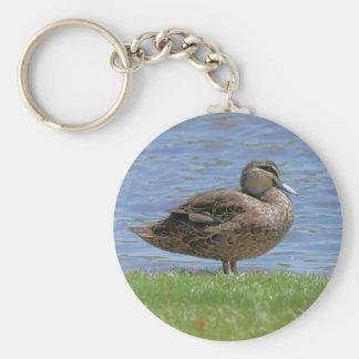 Duck Pond Keychain