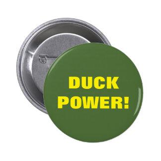 DUCK POWER! 2 INCH ROUND BUTTON