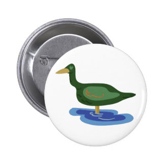 Duck Puddle 2 Inch Round Button