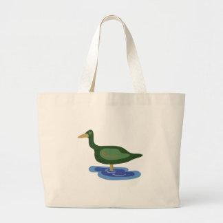 Duck Puddle Jumbo Tote Bag