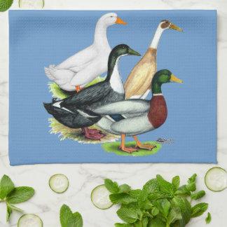 Duck Quartet Kitchen Towels