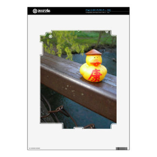 Duck Rail Decal For iPad 2