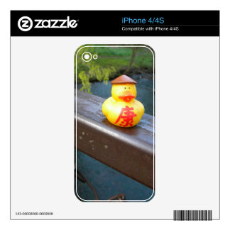 Duck Rail iPhone 4S Decals
