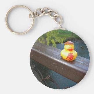 Duck Rail Keychain